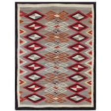 Antique Navajo Rugs For Sale Antique Navajo Blanket Oriental Rug Handmade Wool Rug Red Color