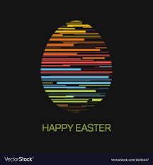 happy easter cards happy easter minimalist easter card royalty free vector