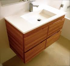 contemporary modern bathroom vanity in australian blackbutt by