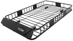 Landscape Trailer Basket by Roof Basket Etrailer Com