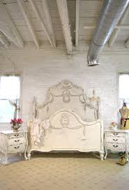 painted cottage shabby chic french romantic queen king bed ib