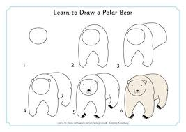 learn draw polar bear 460 0 jpg