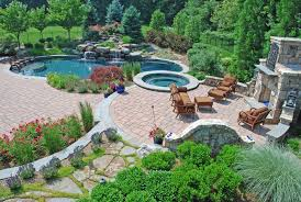 modern backyard images on fascinating backyard landscape plans