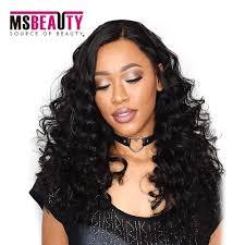 jheri curl weave hair msbeauty virgin brazilian hair extensions grade7a loose wave curly