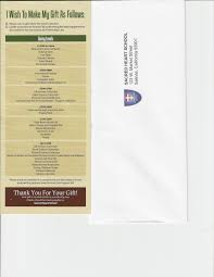 csmsamples sacred heart annual fund brochure
