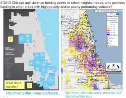 Chicago Neighborhood Crime Map by Mapping For Justice Chicago Youth Program Funding Create