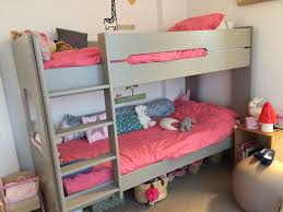 chambre enfant lit superposé lit superposé enfant spark 90x200 cm