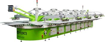 pro machine oval screen printing machine roqprint oval pro roq