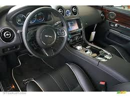 jet black ivory interior 2011 jaguar xj xj supercharged photo