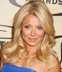 kelly ripa hair style kelly ripa long wavy hairstyle prom formal careforhair co uk