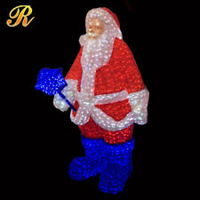 Life Size Santa Claus Decoration Life Size Lighted Santa Claus For Christmas Decoration Buy