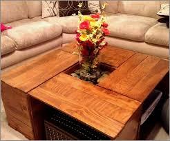 wine crate coffee table 50 luxury milk crate coffee table living room design ideas