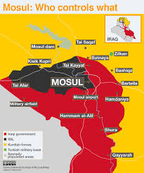 World Map Actual Size by Battle For Mosul Who Controls What