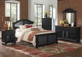 Black Wood Bedroom Set Decorating Your Interior Home Design With Cool Trend Black Wood