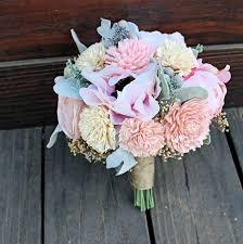 Fake Flowers For Wedding Keepsake Bridesmaid Bridal Bouquet Silk Flowers Peony Anemone