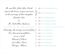 proper wedding invitation wording wedding invitation wording etiquette lilbibby