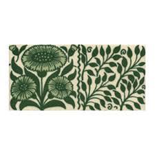 Decorative Tile Borders Victorian Oreton Border Green Decorative Tiles 75x152mm