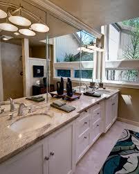 CoolbathroommirrorsBathroomContemporarywithCustomdouble - Bathroom mirrors for double vanity