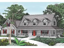 cape cod style home plans cottage hill cape cod style home enticing wrap around porch from
