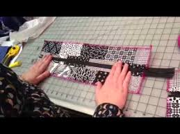 pattern for tote bag with zipper part 1 zipper panel for top of tote bag youtube