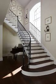 Black Banister Jacksonville Staircase Railing Ideas Traditional With Black