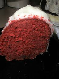 red velvet pound cake from paula deen u0027s holiday baking magazine