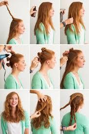 Hochsteckfrisurenen Zum Selber Machen F Mittellange Haar by Frisuren Zum Selber Machen Für Mittellange Haare überall 25 Best