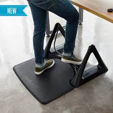 Corner Desk Mat Standing Floor Mat Activemat Rocker Varidesk Desks For Desk
