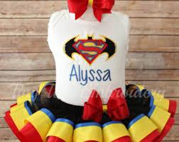 superman ribbon superman ribbon tutu etsy