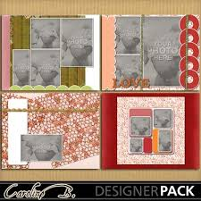 8x11 photo album digital scrapbooking kits warmth 8x11 album 4 carolnb