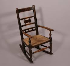 Child Rocking Chair 19th Century Childs Rocking Chair English From J Antique Child