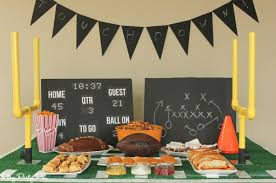 football party decorations everything you need to throw a bowl party including