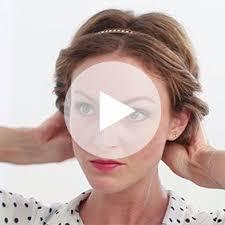 comment cuisiner les chignons de comment faire un chignon avec un headband chignon comment