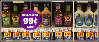 new kraft salad dressing coupon u003d only 0 99 each with kroger mega