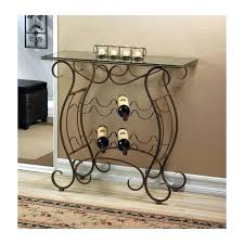 wine rack side table wine rack side table vineyard wine rack table this beautiful table
