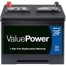 battery car valuepower lead acid automotive battery group 24f walmart com