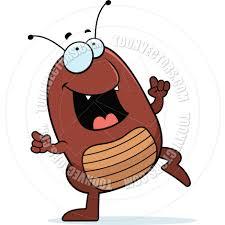 cartoon flea dancing cory thoman toon vectors eps 1263