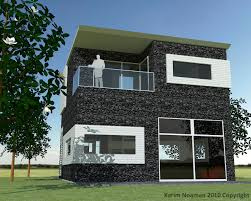 awesome simple modern home design and unique wall exterior