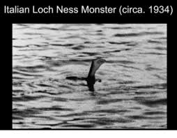 Loch Ness Monster Meme - italian loch ness monster circa 1934 loch ness monster meme on me me