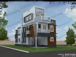 contemporary style home 4 bedroom house plans archives page 2 of 3 kerala model home plans