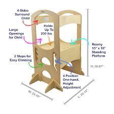 Esszimmertisch Tr Fel Little Partners Learning Tower Lernturm Amazon De Baby