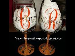 how to personalize a wine glass start to finish personalized wine glasses