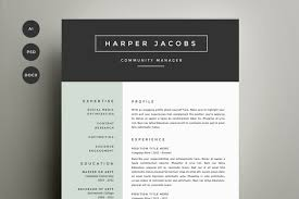 awesome resume template resume design templates resume template 4 pack cv template jobsxs