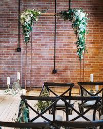 wedding arches calgary calgary industrial wedding at charbar with a copper arbour