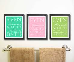 bathroom romantic bathroom wall art with cool stickers design
