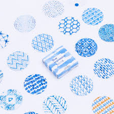 how to write an impression paper blue sticker paper promotion shop for promotional blue sticker tomtosh 45 pcs lot mini blue impression paper sticker decoration diy ablum diary scrapbooking label sealing sticker stationery
