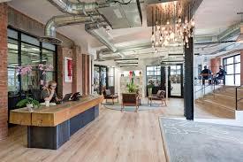 Red Brick Laminate Flooring Platfform Red Brick Road London Office