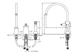 widespread kitchen faucet gooseneck kitchen faucets