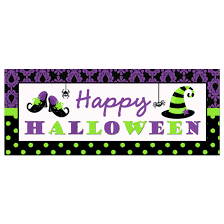 purple halloween banners u2013 fun for halloween
