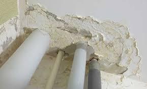 Ceiling Water Damage Repair by How To Repair Ceiling Water Damage